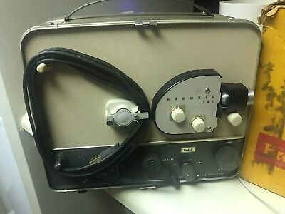 Kodak Brownie 300 Movie Projector EASY to use working condition with box & inst