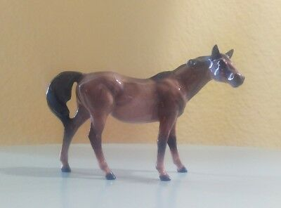 Hagen Renaker Horse Breyer G1 TB Thoroughbred Mare Rose Gray