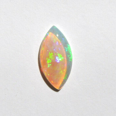 NATURAL SOLID 0.96CT 12x6 CRYSTAL LIGHT OPAL LOOSE UNSET MARQUIS AUSTRALIAN