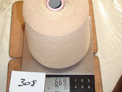 KNITTING MACHINE YARN ON CONE 2PLY SYNTHETIC MOUSSE 669g