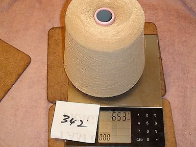 KNITTING MACHINE YARN ON A CONE 1PLY SYNTHETIC MOUSSE 653g