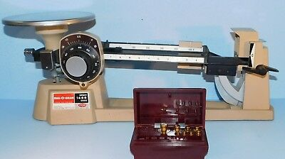 VTG OHAUS DIAL-O-GRAM 1600g CAPACITY Mechanical Beam Scale~w/weights