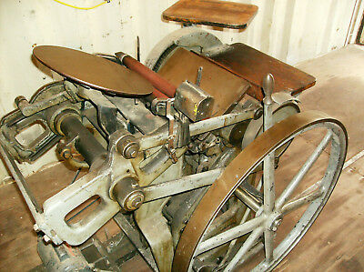 Chandler & Price 8 x 12 Letterpress with Counter & Electric Motor Variable Speed