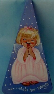 "DeLane Lange lovely tole painting pattern ""Angel Bell"""