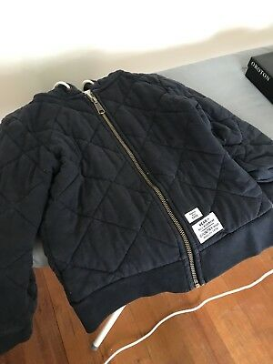 Boys Country Road Jacket Navy Size 5