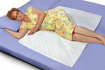 """Premium Quality Bed Pad, Quilted, Waterproof, and Washable , 34"""" x 52"""" The"""