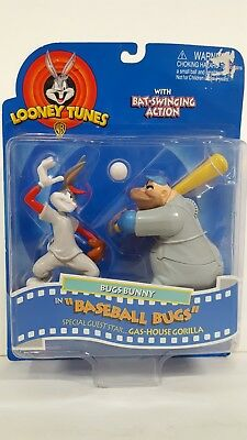 Bugs Bunny And Gas-House Gorilla In Baseball Bugs  Looney Tunes Figurines