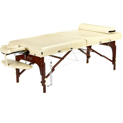 """Master Massage 30"""" SAXON Portable Massage Table Set w/Therma-Top Heating System"""