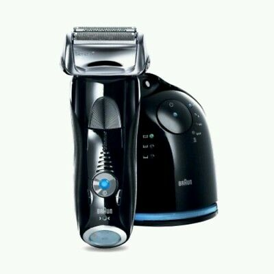 Braun Series 7 760cc-4 Electric Foil Shaver with Clean;Charge Station