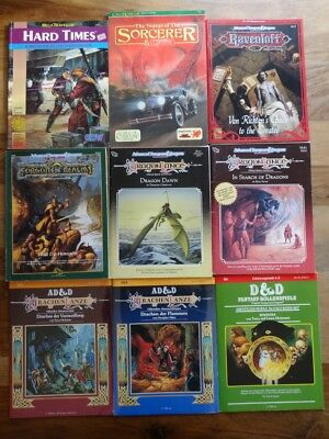 diverse AD&D Module zur Auswahl / Different AD&D Modules to choose (AD&D, TSR)