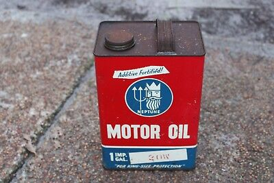 Neptune motor oil Company PTY. LTD 1 Imperial Gallon 2OW tin