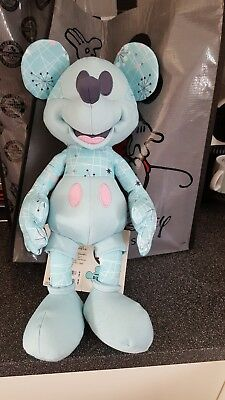 Mickey Mouse memories May space age plush  NEW with tags Disney store limited