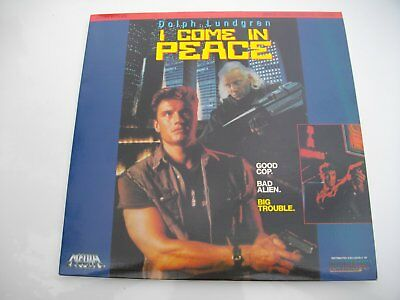 i  .COME   iN   PEACE - DARK   ANGEL - NTSC - LASERDiSC - VERY  RARE  >> GOOD