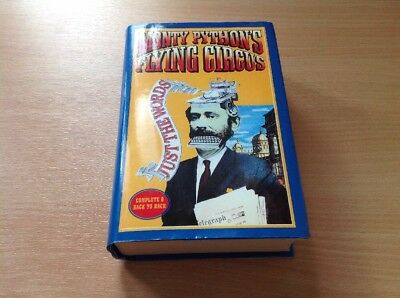 Monty Python's Flying Circus Just The Words Volume 1 & 2 Complete Hardback Book