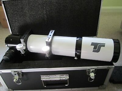 Telescope Express 80mm f/7 ED  Doublet refractor + hard case.