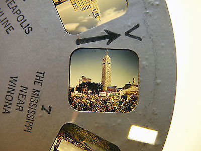 View-Master Reel 9072: The Twin Cities and Southern Minn., USA, 1952, 1 Scheibe