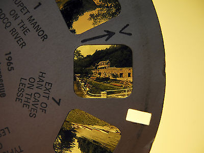 View-Master Reel 1965 : The Bocq, Moligne and Lesse Rivers, Belgien 1958