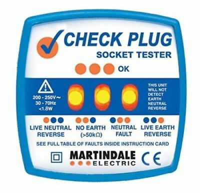 Martindale CP501 Check Plug Socket Tester