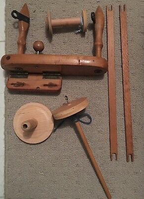 Wool Spinning / Weaving - Wooden Accessories
