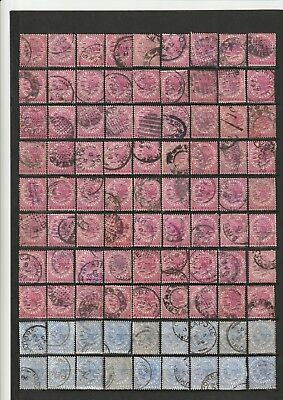Straits Settlements. Victoria stamps. 2 SCANS