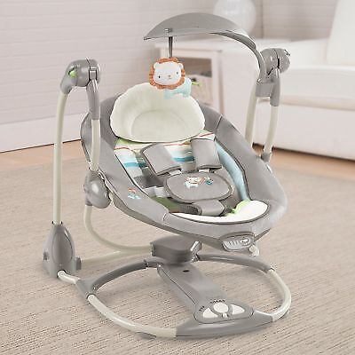 Ingenuity Bright Starts Convertme Swing-2-Seat Vibrating Baby Bouncer Chair