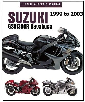 1999 2001 suzuki gsx r1300 hayabusa motorcycle workshop repair service manual