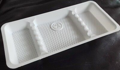 Disposable Plastic Instrument Trays Dental & Beauty 28cm x 13cm by Medibase