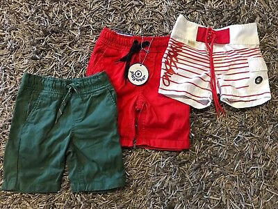 Mossimo Pumpkin Patch Boys Shorts Bundle Size 3