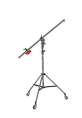 Manfrotto 085BS Light Boom Arm and stand w. clamp, counter weight - barely used