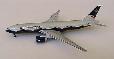 Geminijets 1/400 diecast model British Airways Boeing 777-236 Landor colours