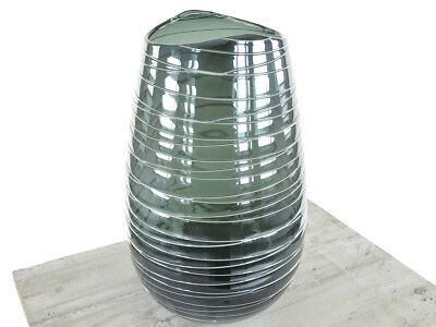 Design Vase Stripe 8, blau