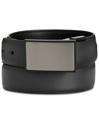 Kenneth Cole Reaction Reversible Feather Edge Belt Black Brown Mens Size 40  New ec8d3a41f9f9