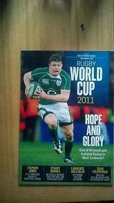sunday time world cup mag 2011 brian o'driscoll