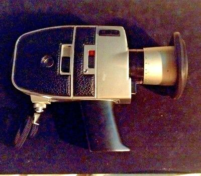 Vintage 1970's BAUER C2A Super 8 movie Camera w/Case and Instructions