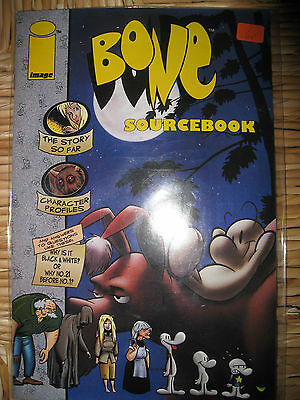 Bone Sourcebook von Image english  September 1995 #1 Comic