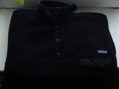 PATAGONIA Fleece Jacket Black Men's Size L