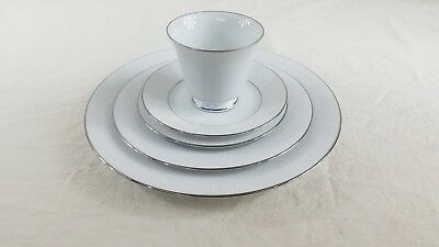 Noritake Fine China Tahoe 5-Pc Place Setting  #2585 ~ 3 Available