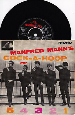 EP Manfred Mann - Cock-A-Hoop with 5 4 3 2 1.   UK 1964