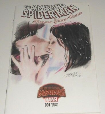 The Amazing Spider-Man Renew Your Vows  #1 (2015.marvel) Original Sketch Art
