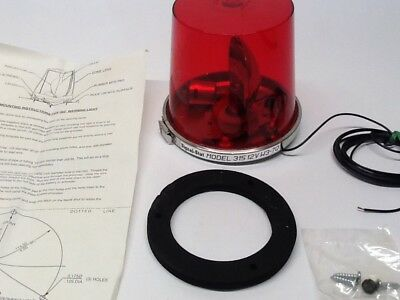 Napa Red Rotating Beacon Light 315 NOS