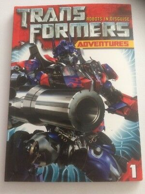 TRANSFORMERS: ADVENTURES VOLUME 1 - GRAPHIC NOVEL by Simon Furman - Brand New