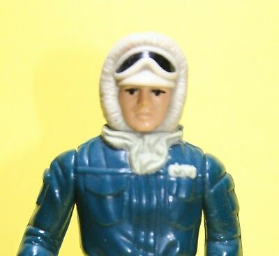 Star Wars Vintage Figur Han Solo Hoth Top Zustand Hong Kong COO