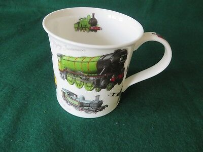 Dunoon Steam Trains Classic Collection Mug- Richard Partis, Looks Unused,