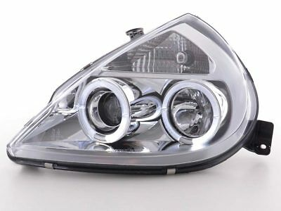 Scheinwerfer Angel Eyes Ford KA Typ RBT Bj. 96-08 chrom