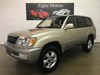 2001 Lexus LX 470 4WD Looks and Drives great Clean Carfax -- 2001 Lexus LX 470 247,699 Miles