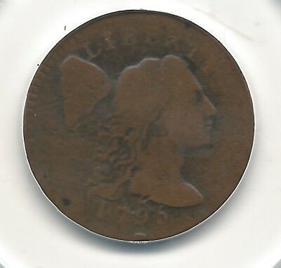 1795 Liberty Cap Large Cent Plain Edge