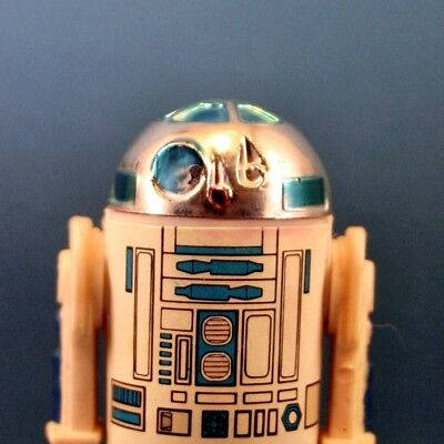 Star Wars Vintage Figur R2-D2 (First 12) Top Zustand Solid Dome