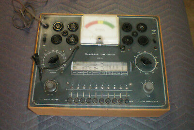 Heathkit Tube Tester TC2