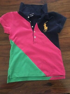 Ralph Lauren girls polo top size 7 years