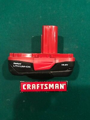 New Craftsman C3 19.2 Volt Compact Lithium Ion Battery Pack Model 5166 Batteries